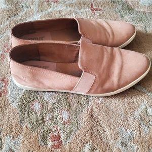 Frye Dylan Flats Dusty Pink Blush 8